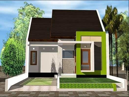 teras rumah minimalis sederhana